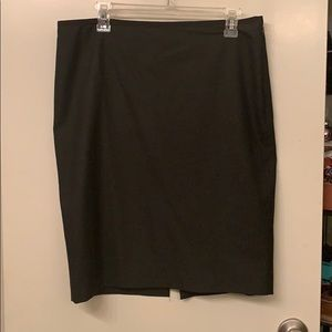 Limited brand grey pencil skirt